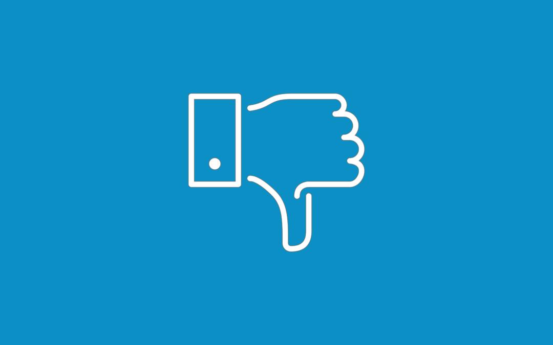 """Facebook: è in arrivo il pulsante """"non mi piace"""" ?"""