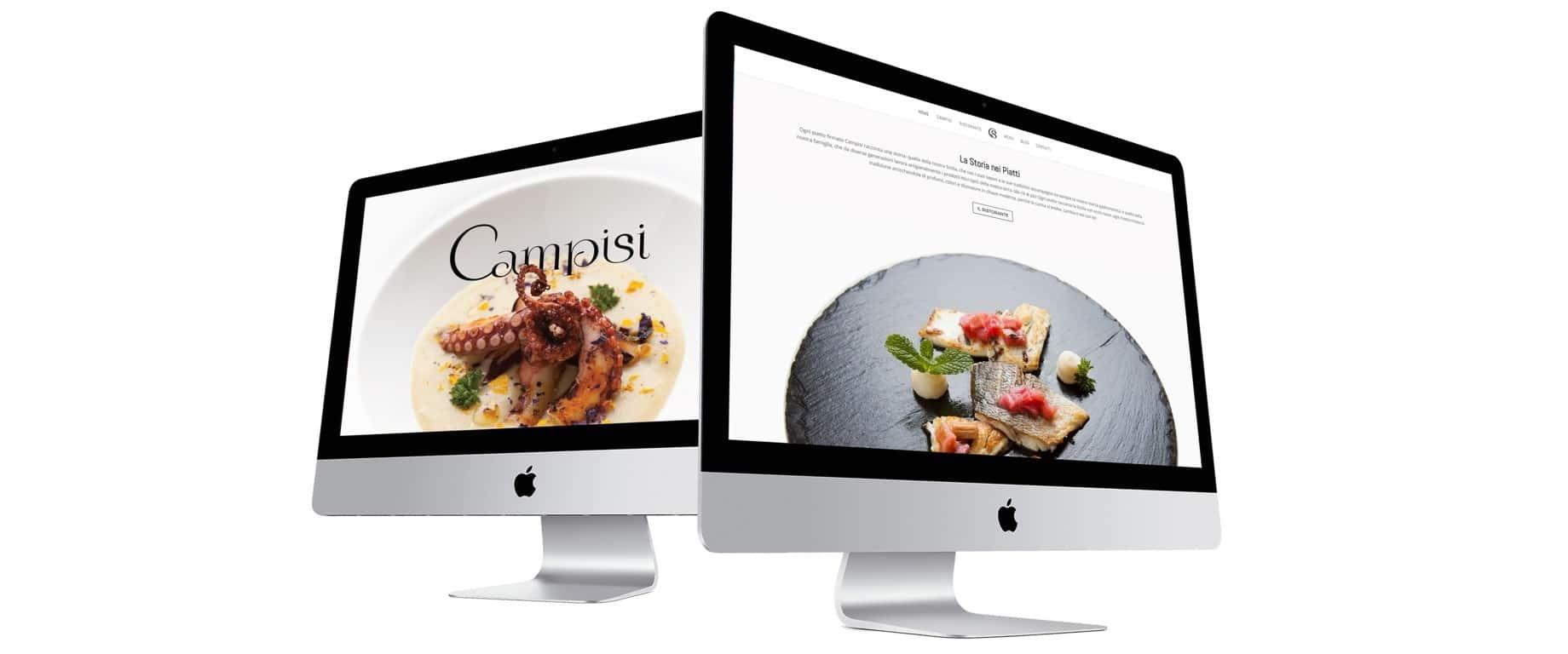 Corporate del ristorante Campisi