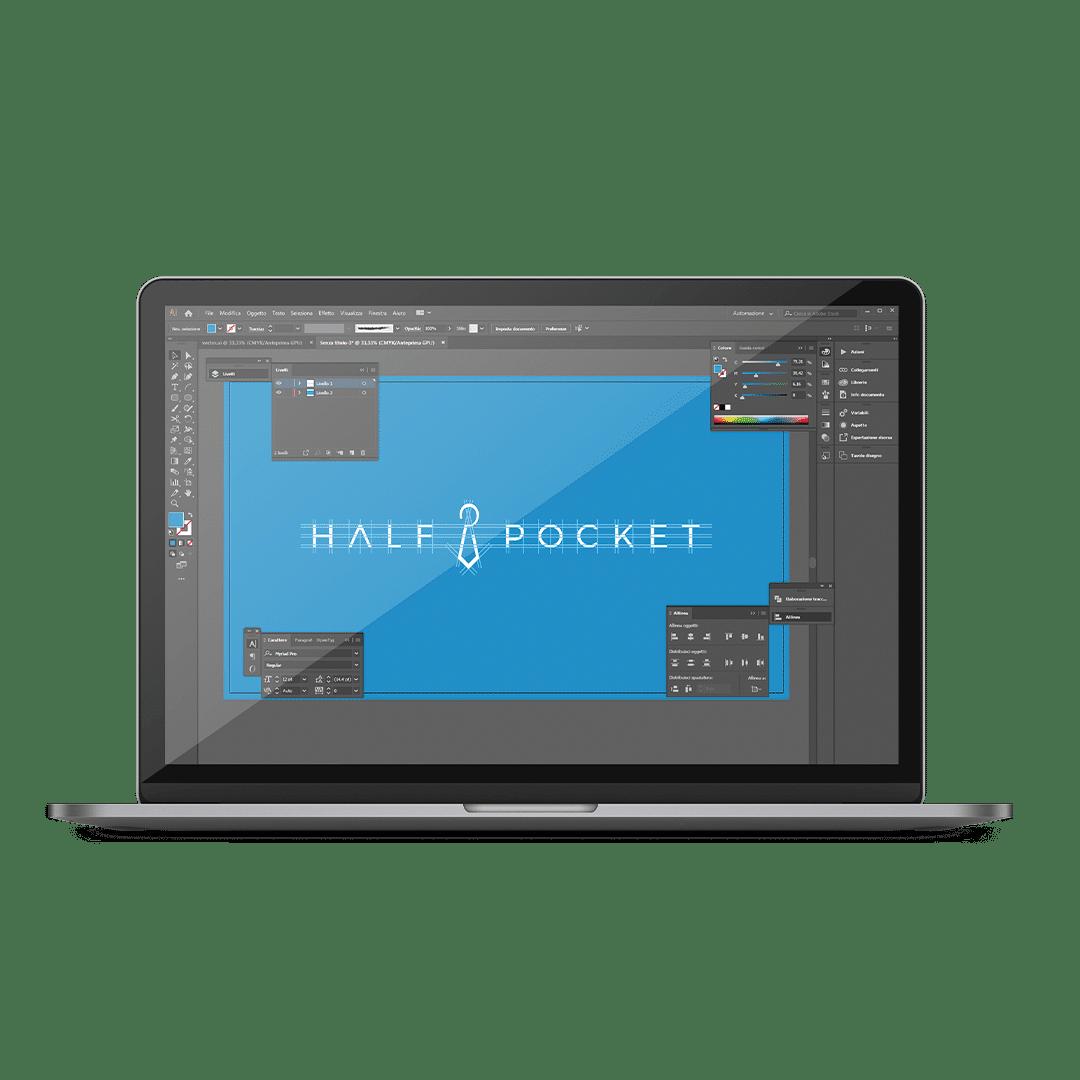 Realizzazione logo con programmi di grafica