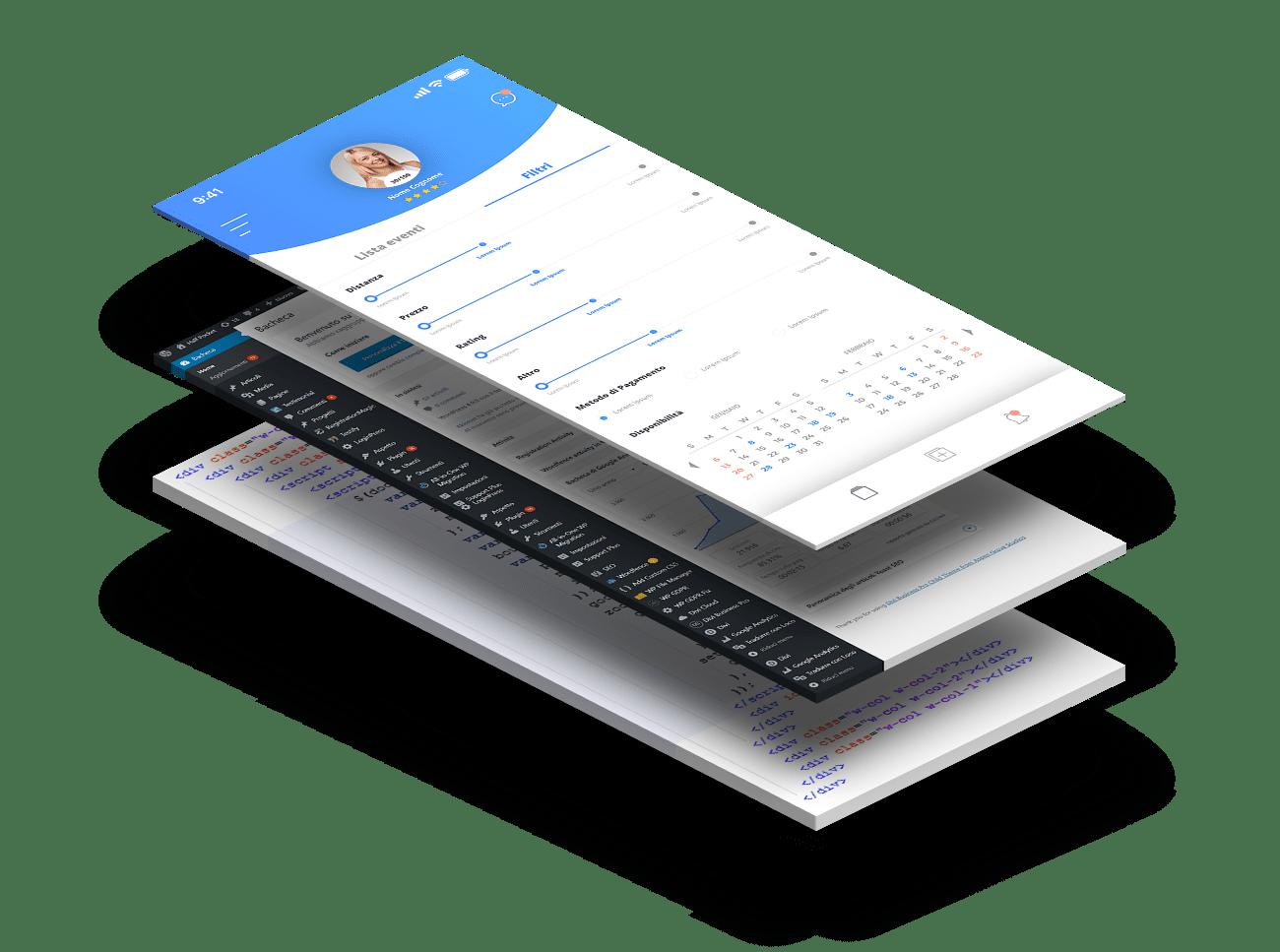 Creazione dell'applicazione per ios e android